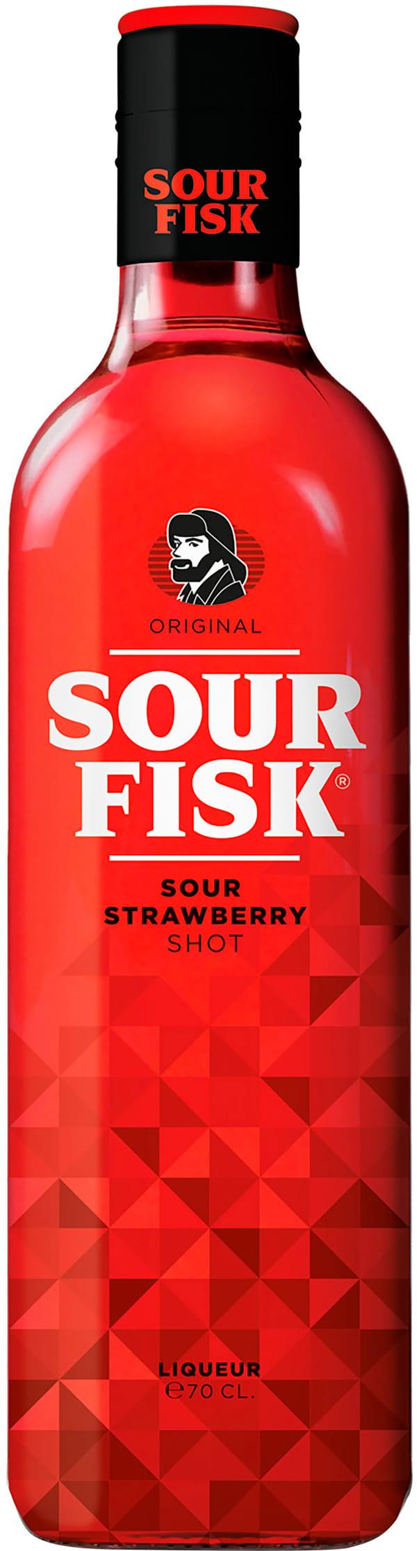 Sour Fisk Sour Strawberry