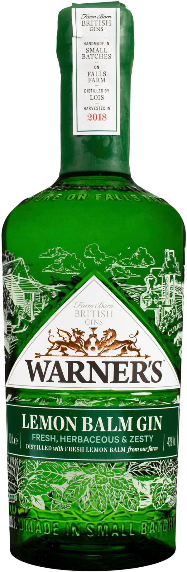 Warner`s Lemon Balm Gin