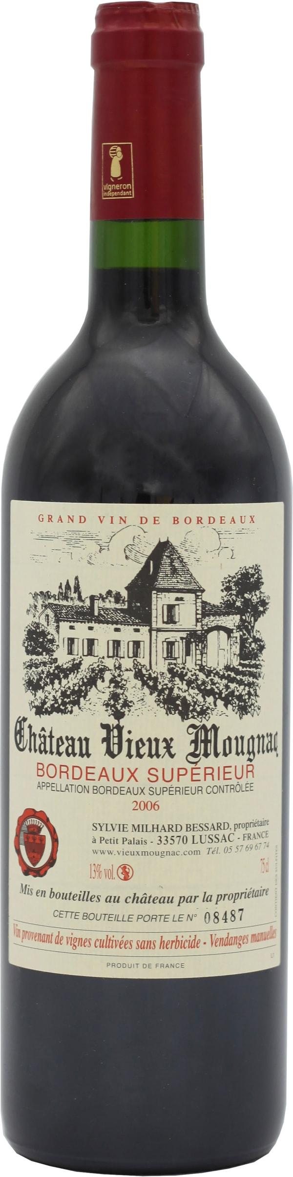 Château Vieux Mougnac Bordeaux Supérieur 2006