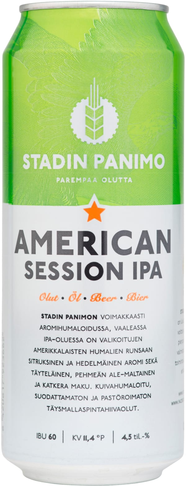 Stadin American Session IPA can