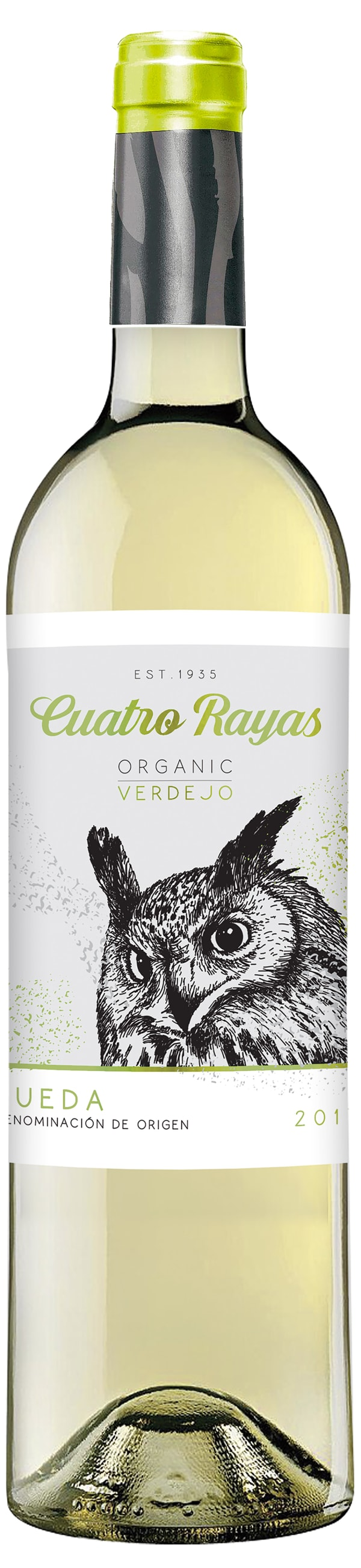 Cuatro Rayas Organic Verdejo 2017