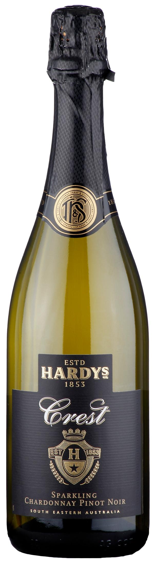 Hardys Crest Sparkling Chardonnay Pinot Noir Brut