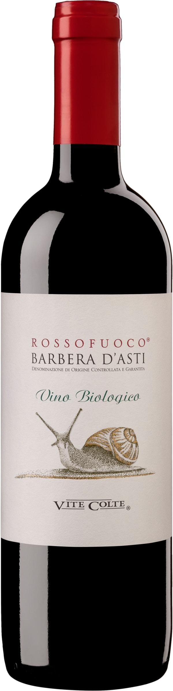 Rossofuoco Barbera d'Asti Biologico 2018
