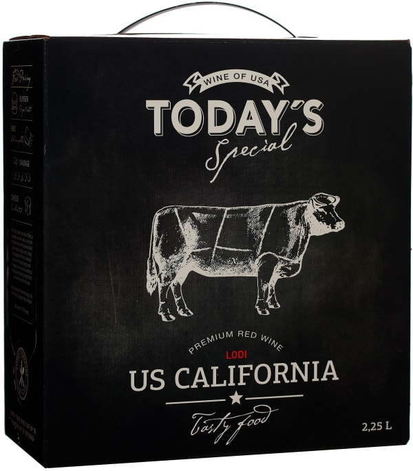 Today's Special California Red bag-in-box