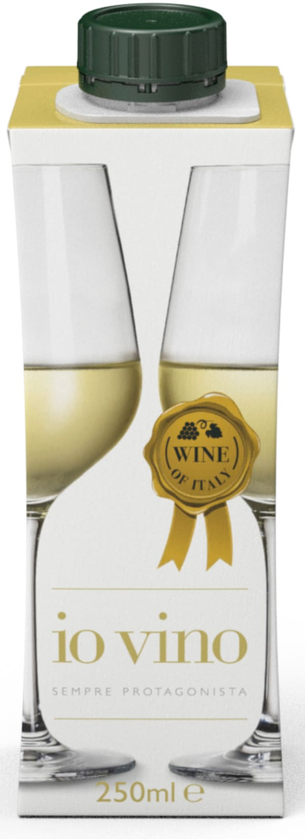 Io Vino Pinot Grigio kartongförpackning