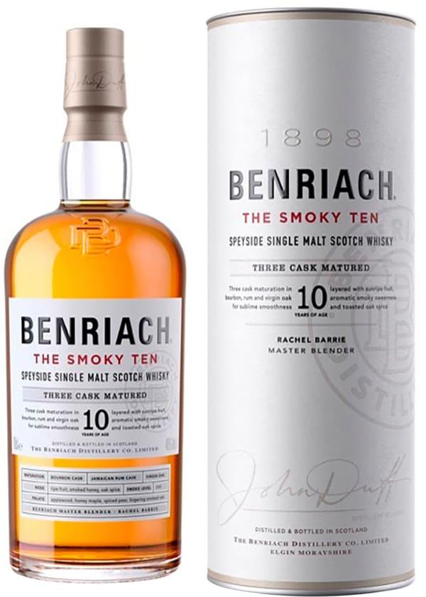 The BenRiach 10 Year Old Smoky Ten Single Malt