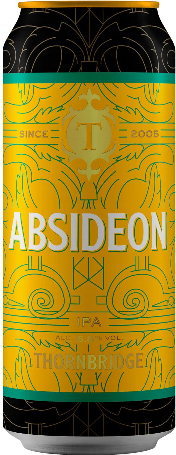 Thornbridge Absideon IPA can