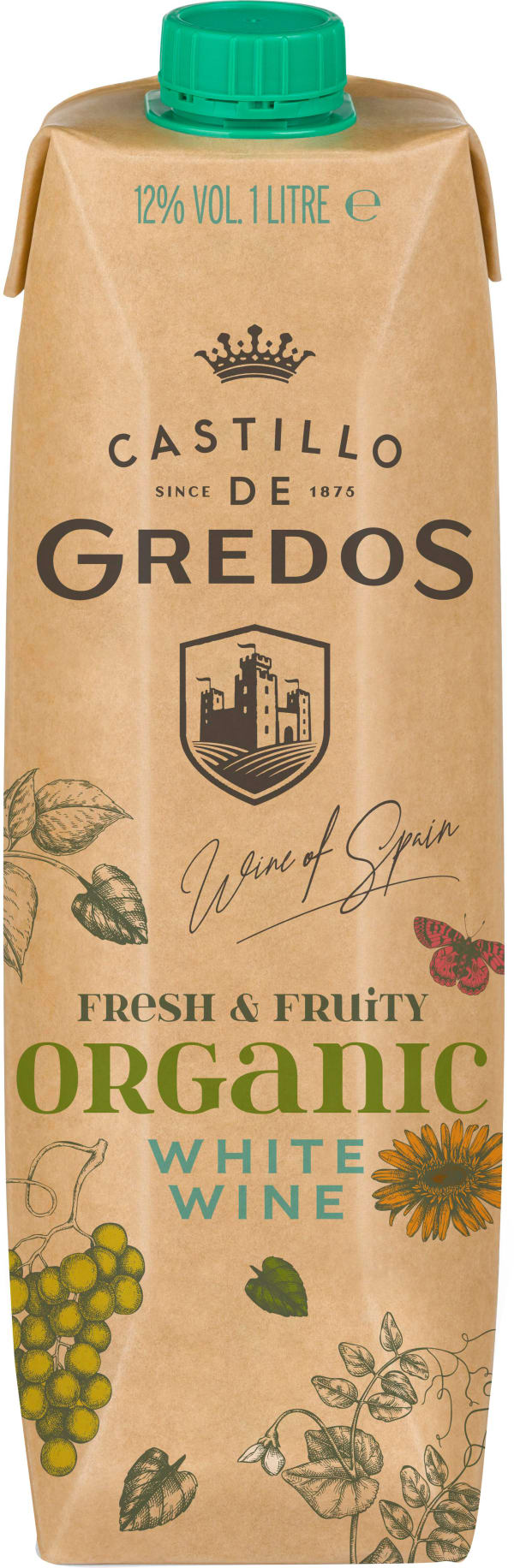 Castillo de Gredos Blanco Organic carton package