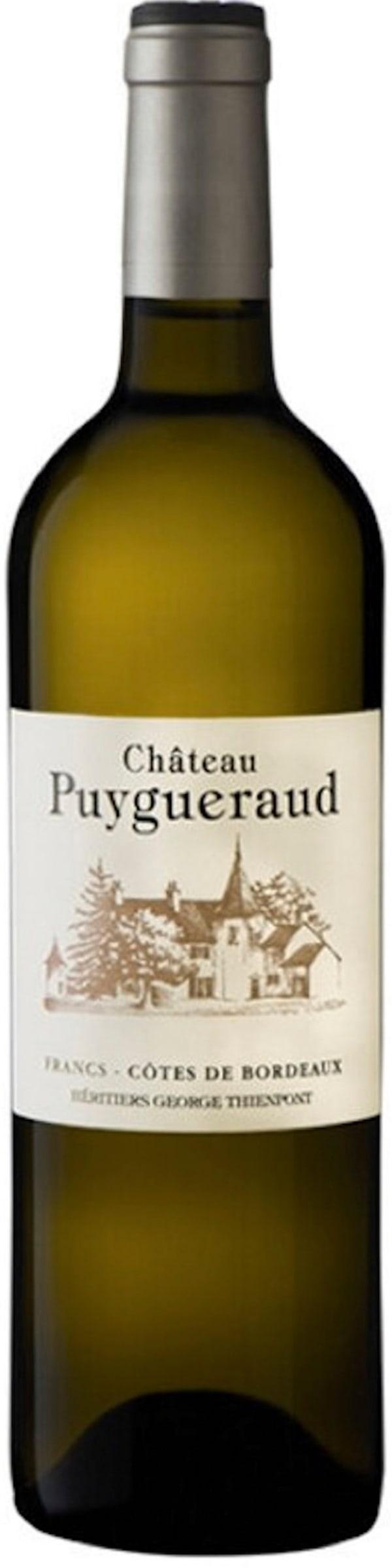 Château Puygueraud Blanc 2015