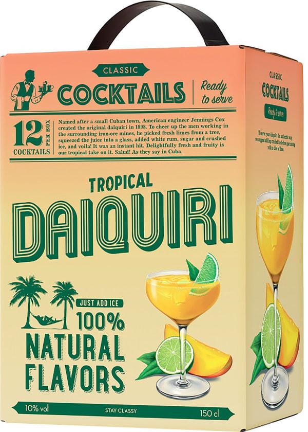 Classic Cocktails Tropical Daiquiri lådvin