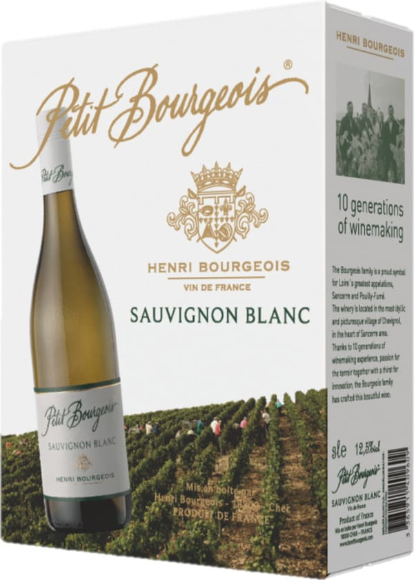 Henri Bourgeois Petit Bourgeois Sauvignon Blanc 2019 lådvin