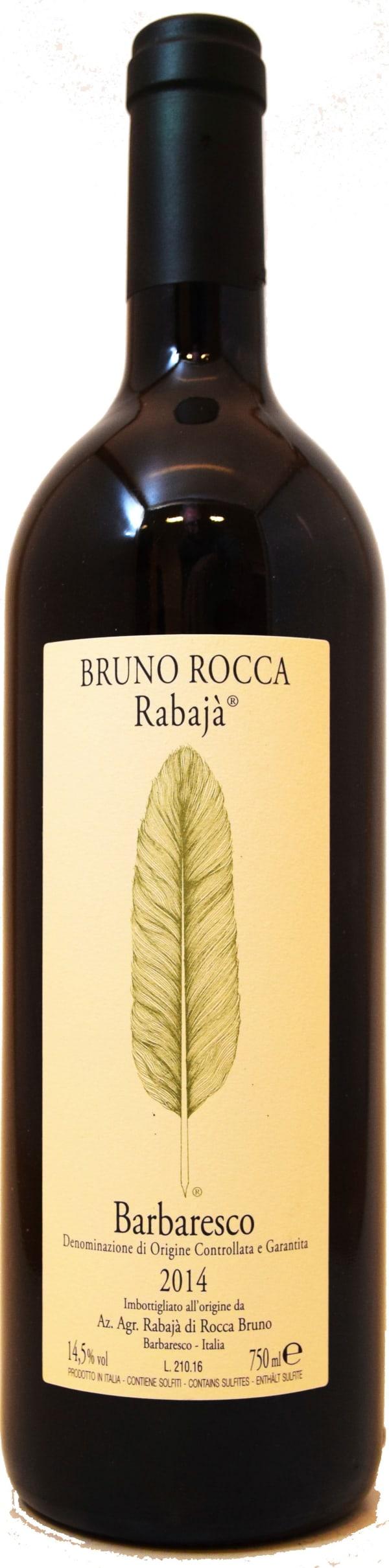 Bruno Rocca Rabaja Barbaresco 2015