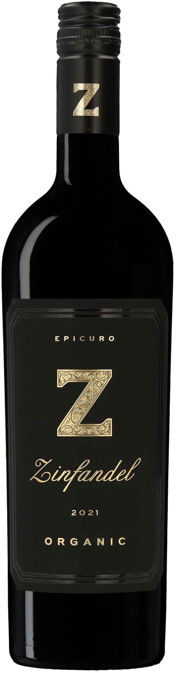 Epicuro Z Zinfandel Organic 2017