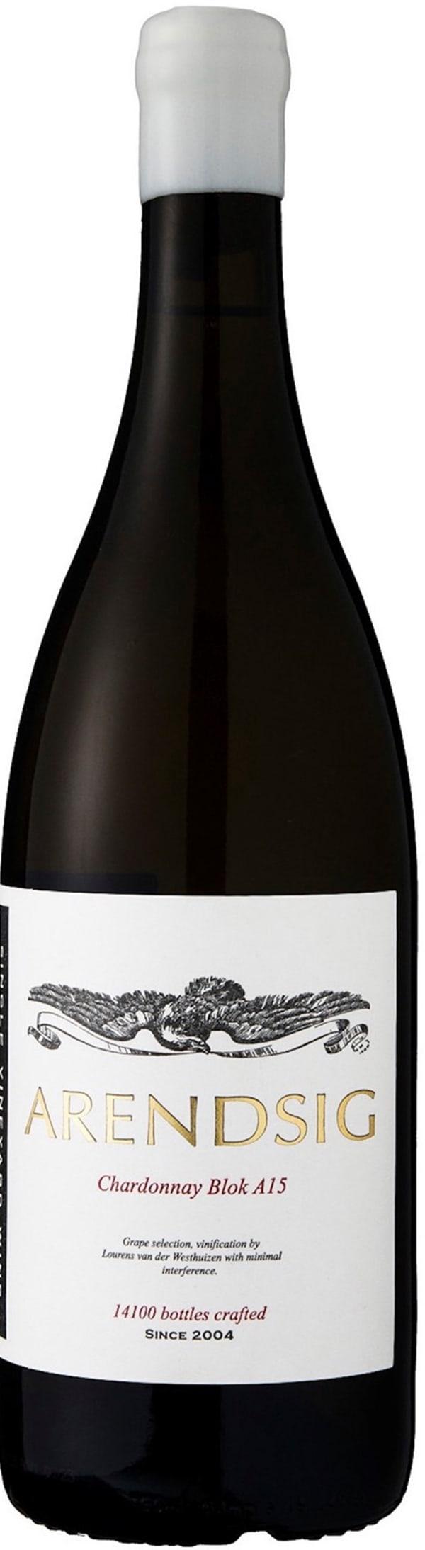 Arendsig Chardonnay Blok A15 2017