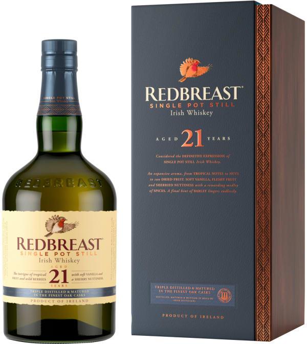 Redbreast 21 Year Old Single Pot Still
