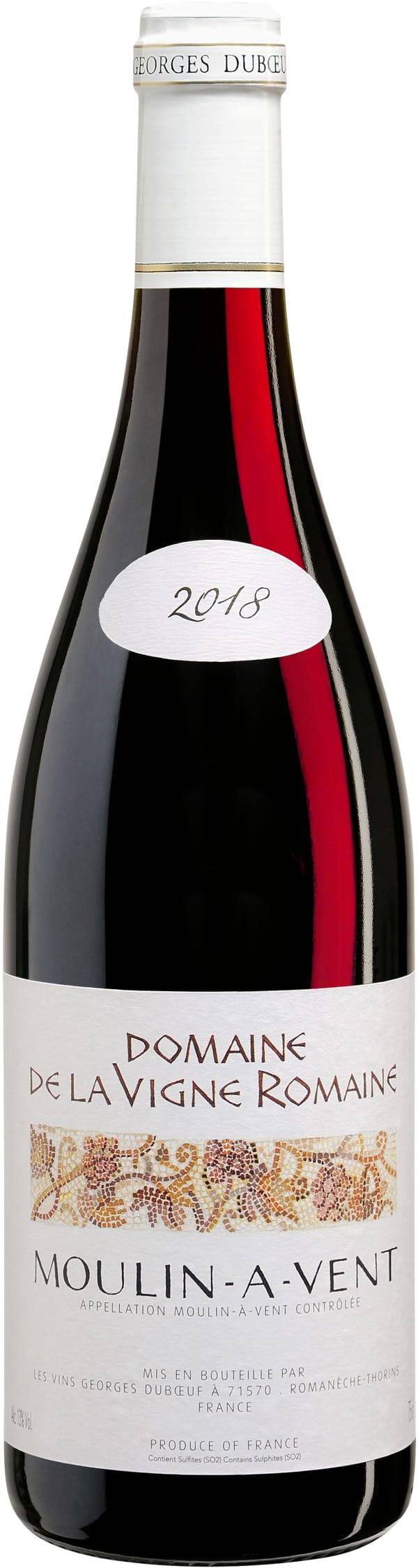 Domaine de la Vigne Romaine Moulin-à-Vent 2018