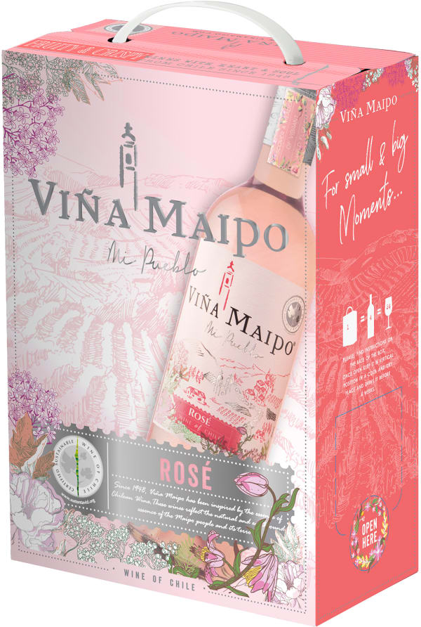 Viña Maipo Rosé 2018 bag-in-box