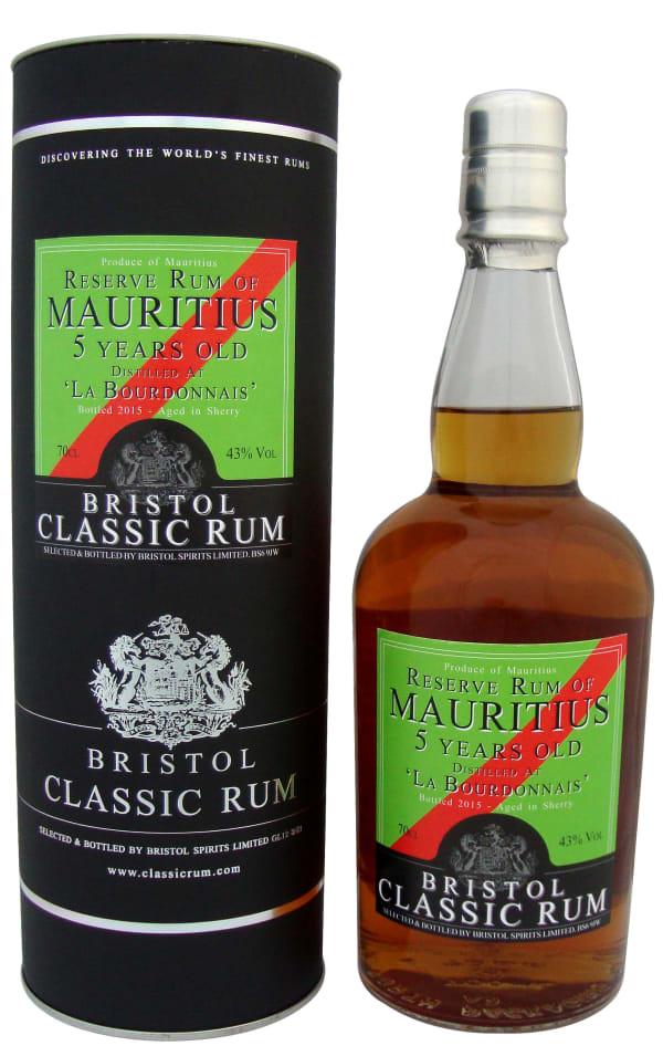 Bristol Mauritius 5 Year Old Sherry Finish
