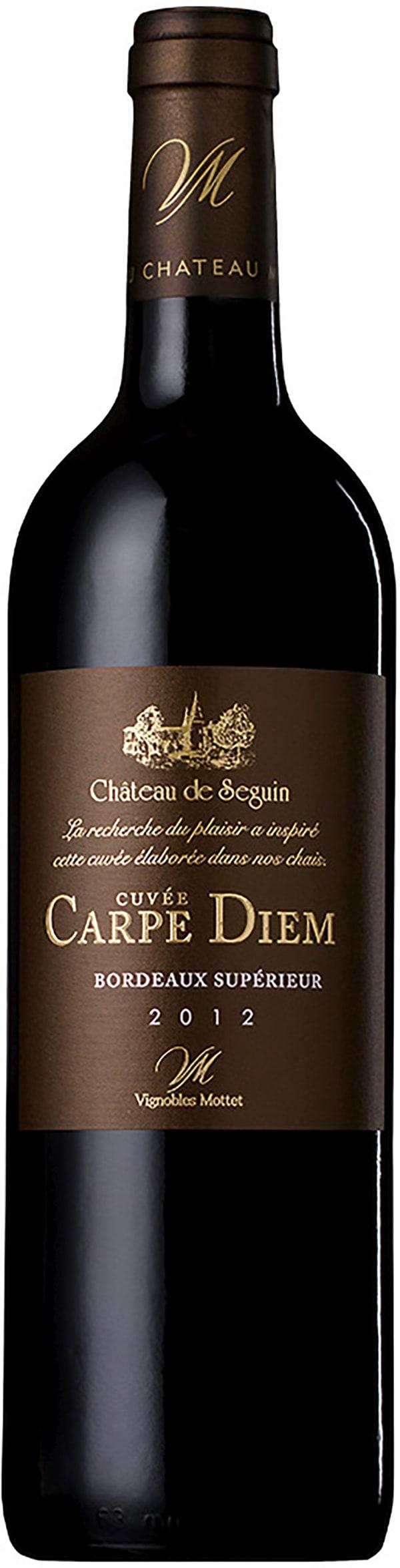 Château de Seguin Cuvée Carpe Diem 2013