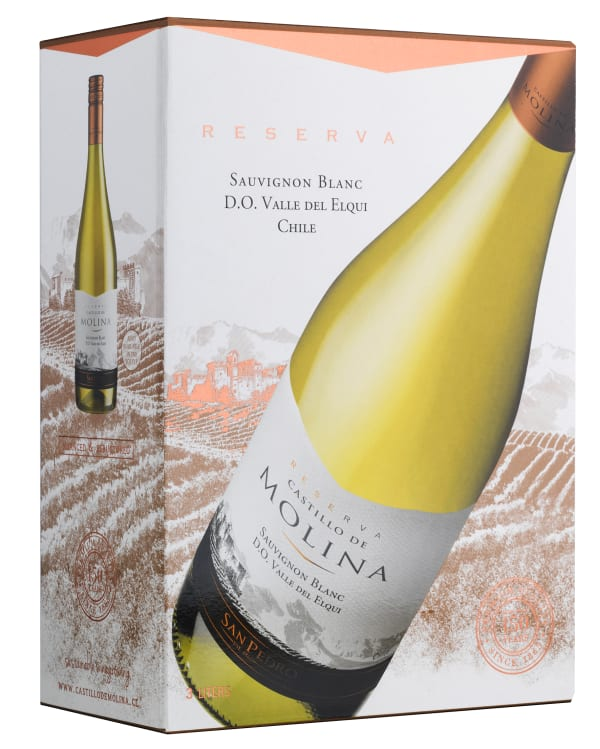 Castillo de Molina Reserva Sauvignon Blanc 2017 lådvin