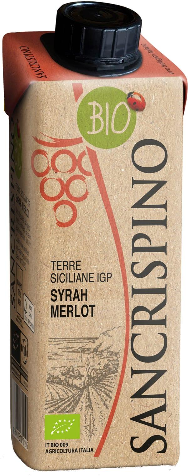 Sancrispino Syrah Merlot Organic kartonkitölkki