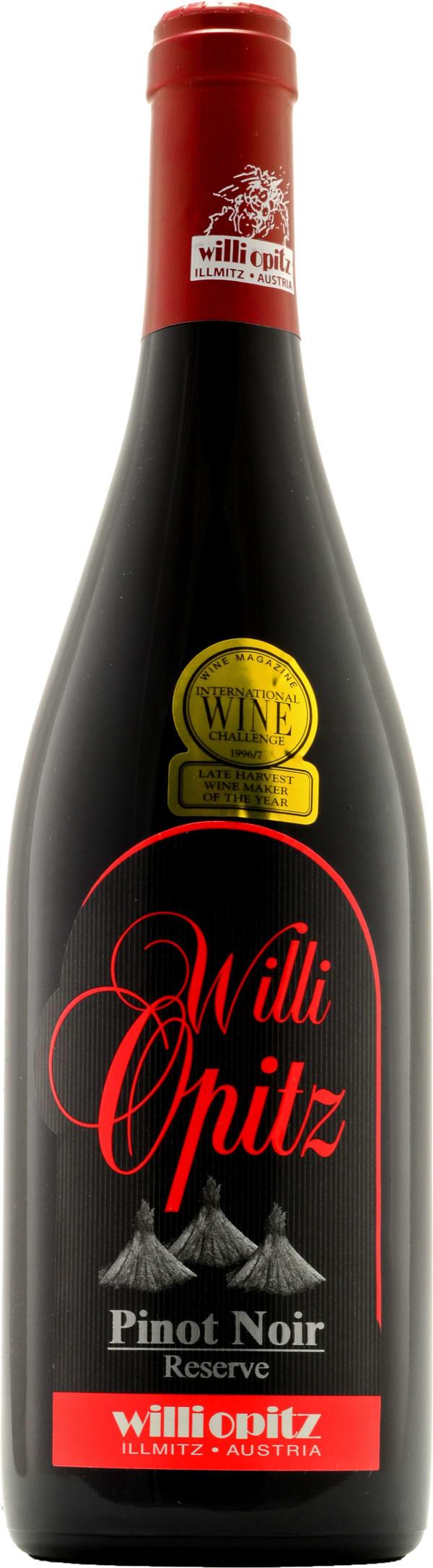 Willi Opitz Pinot Noir Reserve 2011