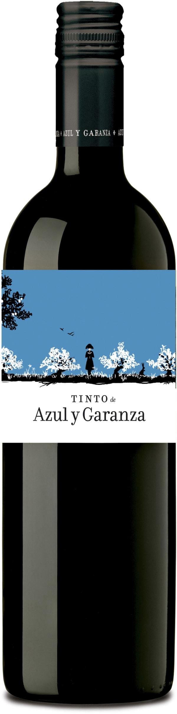 Azul y Garanza Tinto 2018