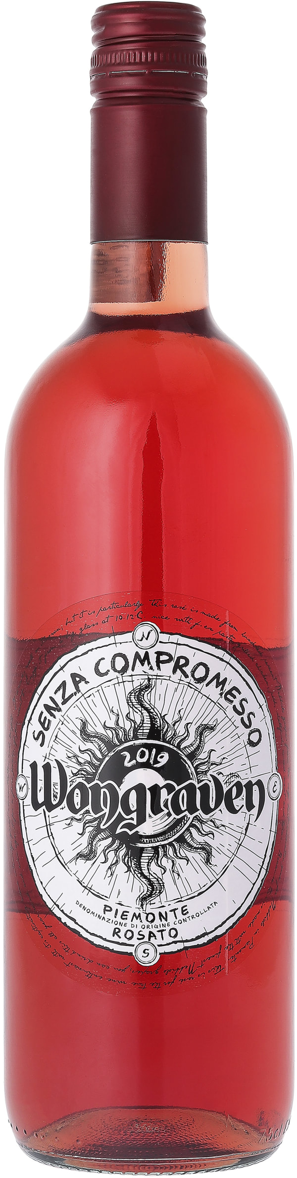 Wongraven Senza Compromesso Piemonte Rosato 2019