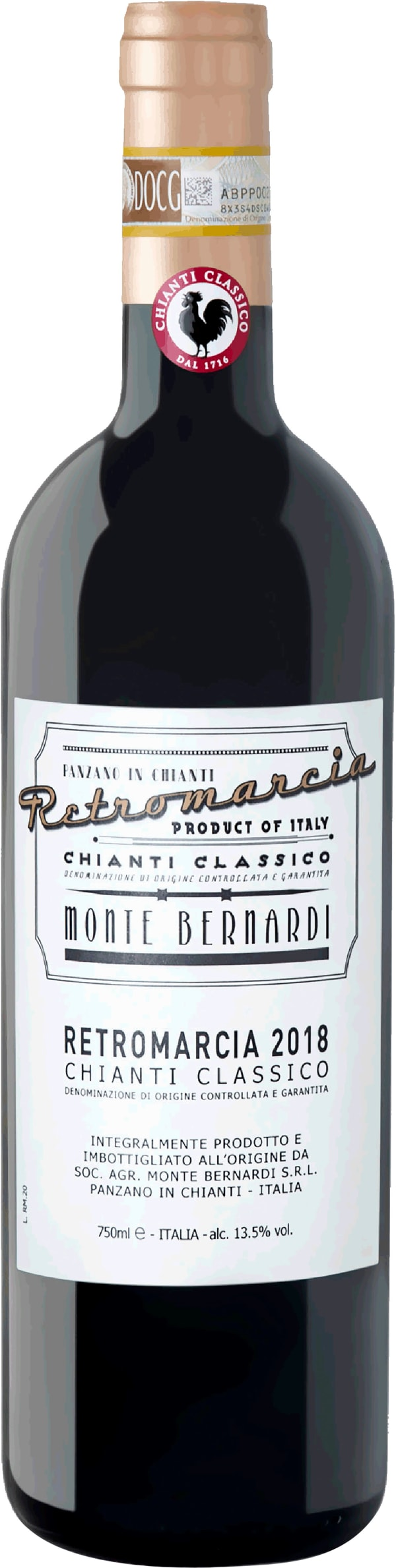 Monte Bernardi Retromarcia Chianti Classico 2017