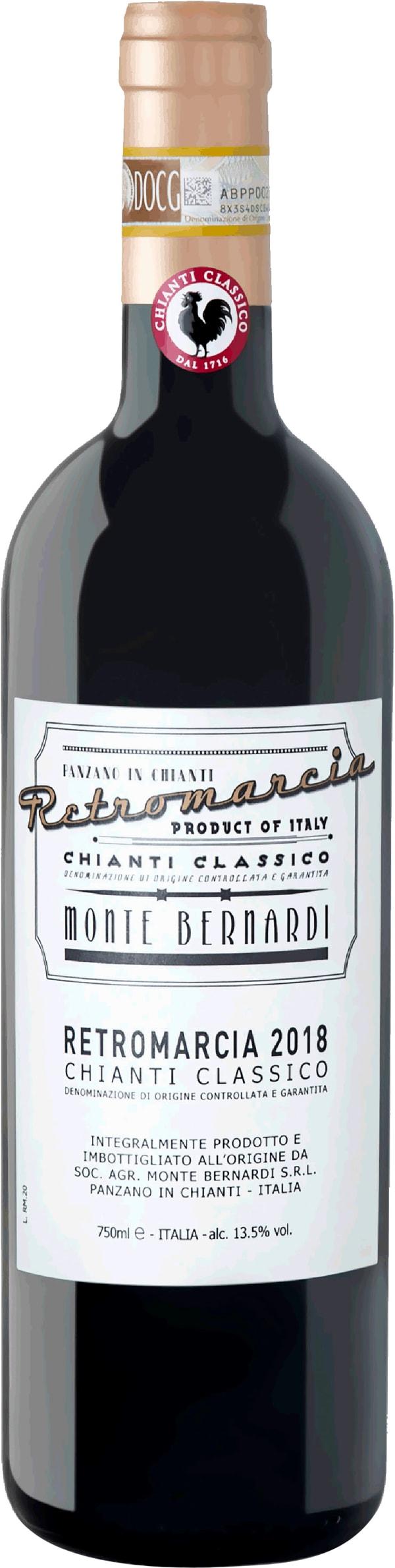 Monte Bernardi Retromarcia Chianti Classico 2018