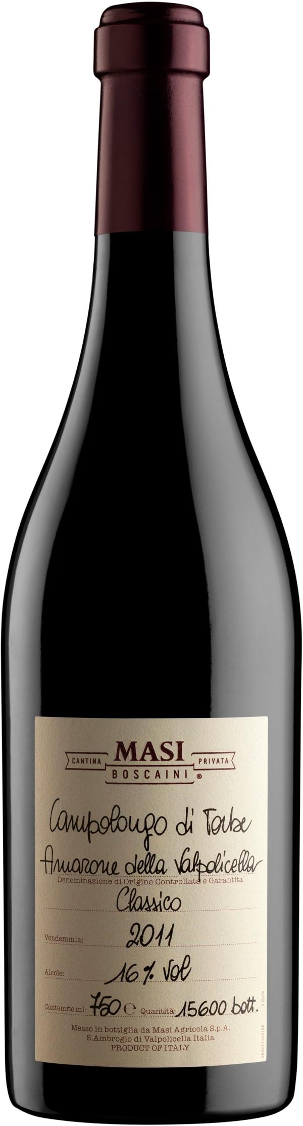 Masi Campolongo di Torbe Amarone della Valpolicella Classico 2011