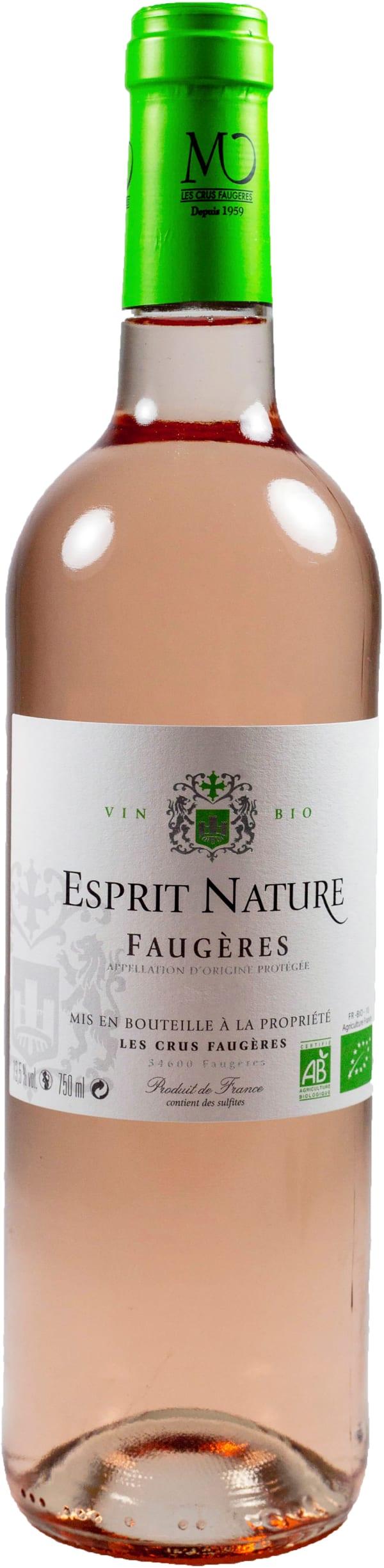 Les Crus Faugeres Esprit Nature Bio Rosé 2017