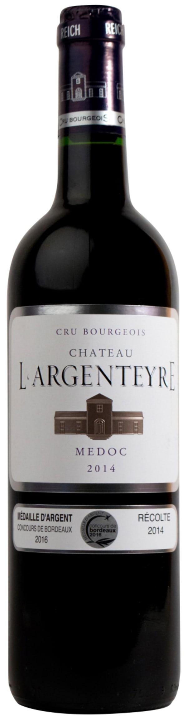 Château L'Argenteyre 2014