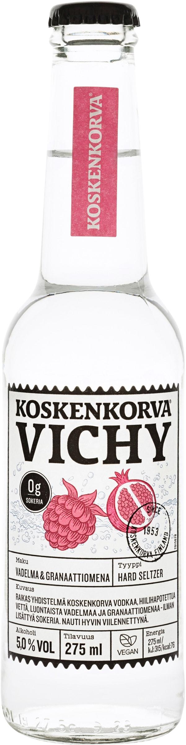 Koskenkorva Vichy Vadelma Granaattiomena
