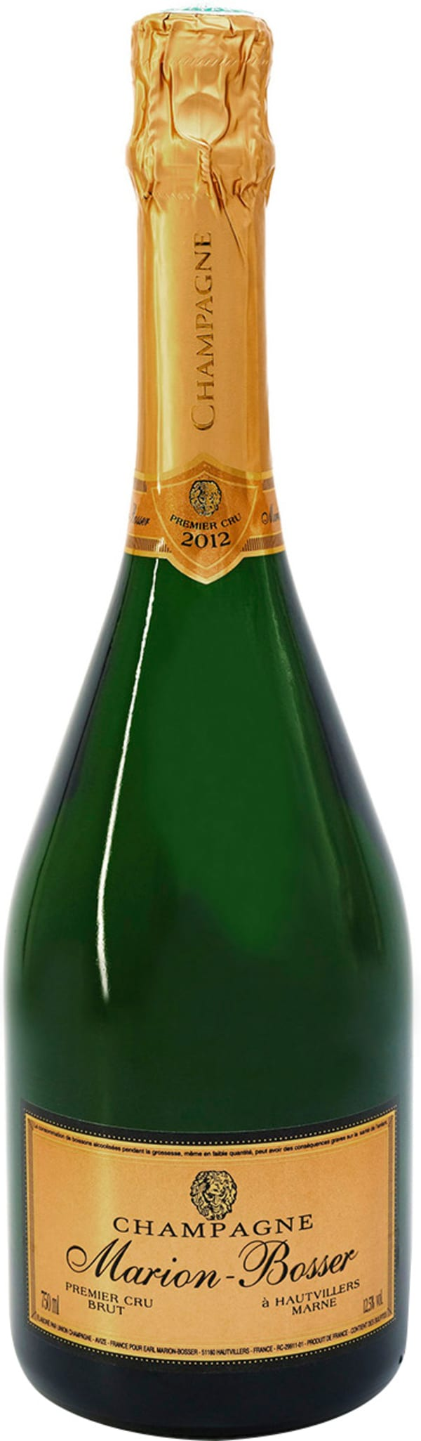 Marion-Bosser Premier Cru Champagne Brut 2012