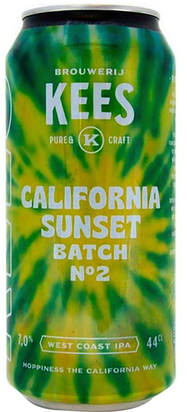 Kees California Sunset West Coast IPA can