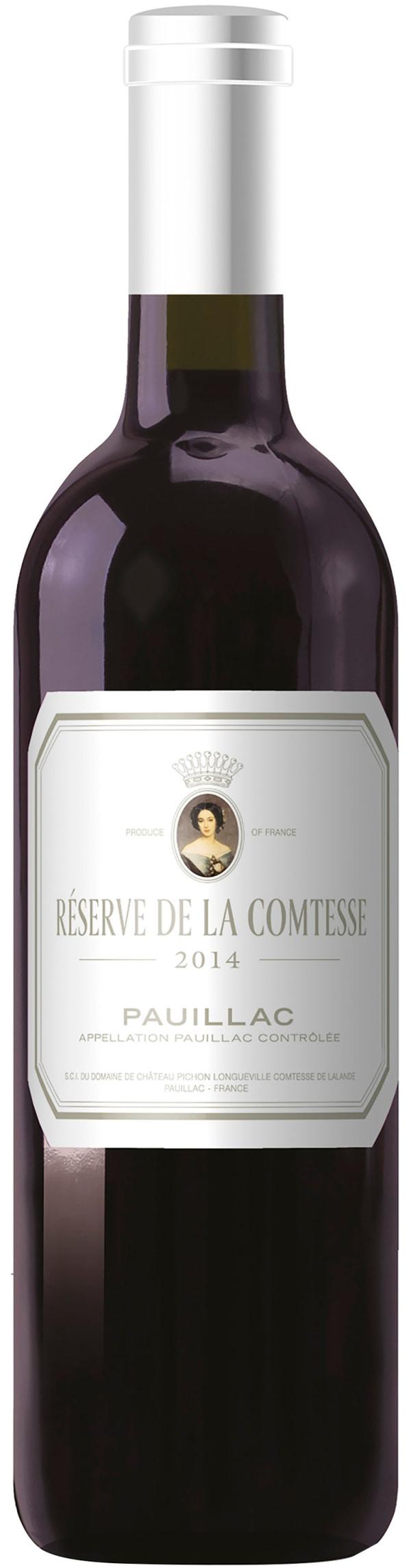 Reserve De La Comtesse 2014