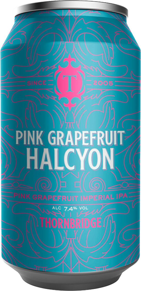 Thornbridge Pink Grapefruit Halcyon burk