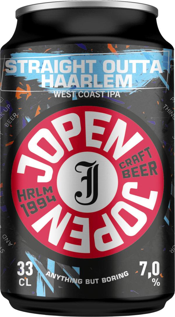 Jopen Straight outta Haarlem West Coast IPA burk