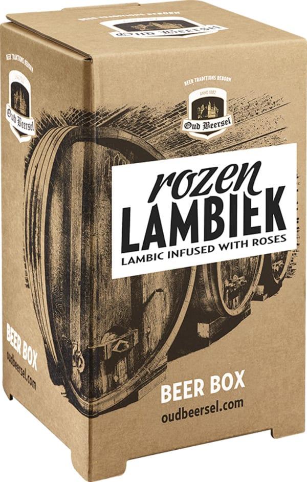 Oud Beersel Rozenlambiek lådvin