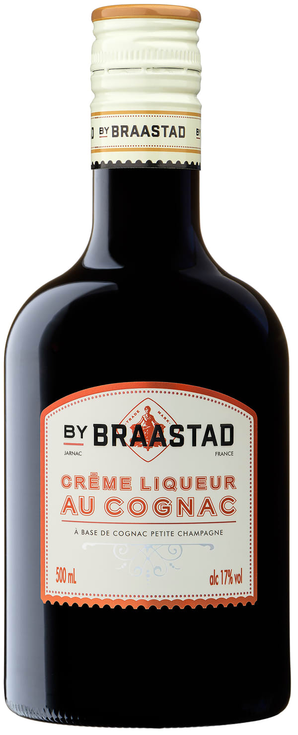 Braastad Crême Liqueur au Cognac muovipullo