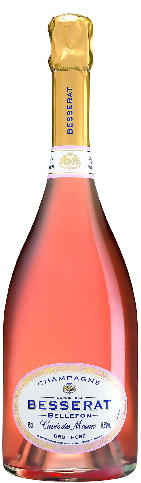 Besserat de Bellefon Cuvée des Moines Rosé Champagne Brut
