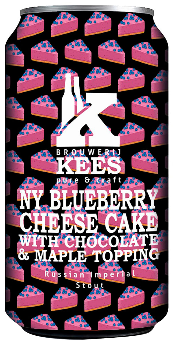 Kees NY Blueberry Cheese Cake can