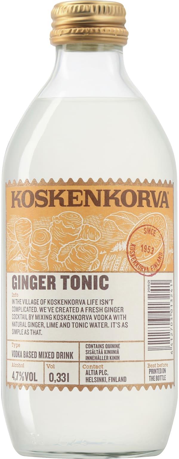 Koskenkorva Ginger Tonic