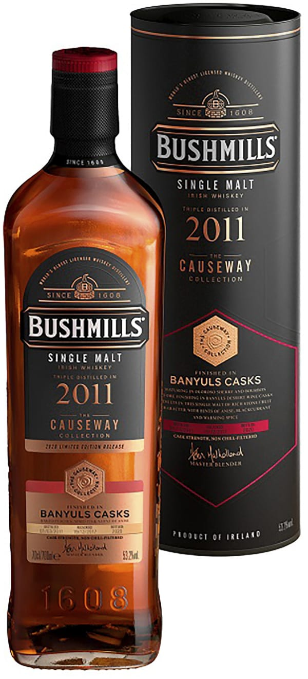 Bushmills Causeway Collection Banyuls Cask Single Malt