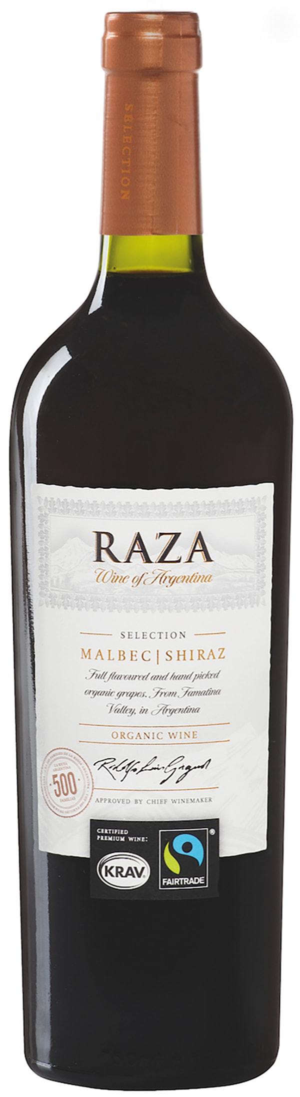 Raza Selection Malbec Shiraz Organic 2015