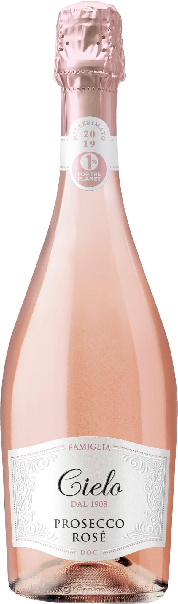 Cielo Prosecco Rosé Extra Dry 2019