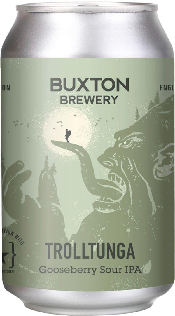Buxton Trolltunga Gooseberry Sour IPA can