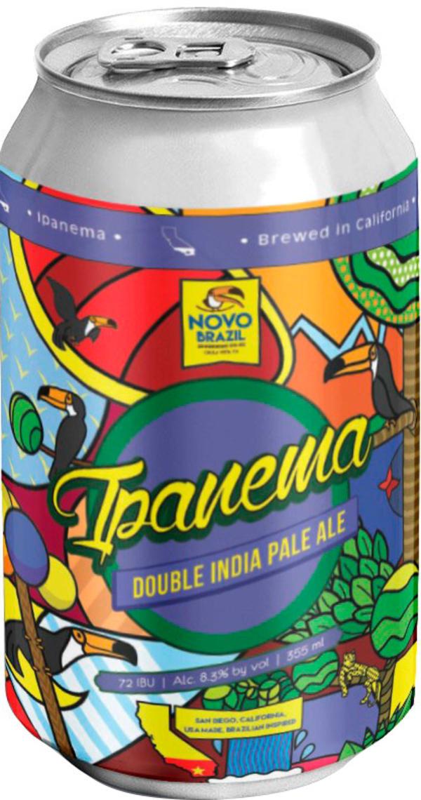 Novo Brazil Ipanema Double IPA can