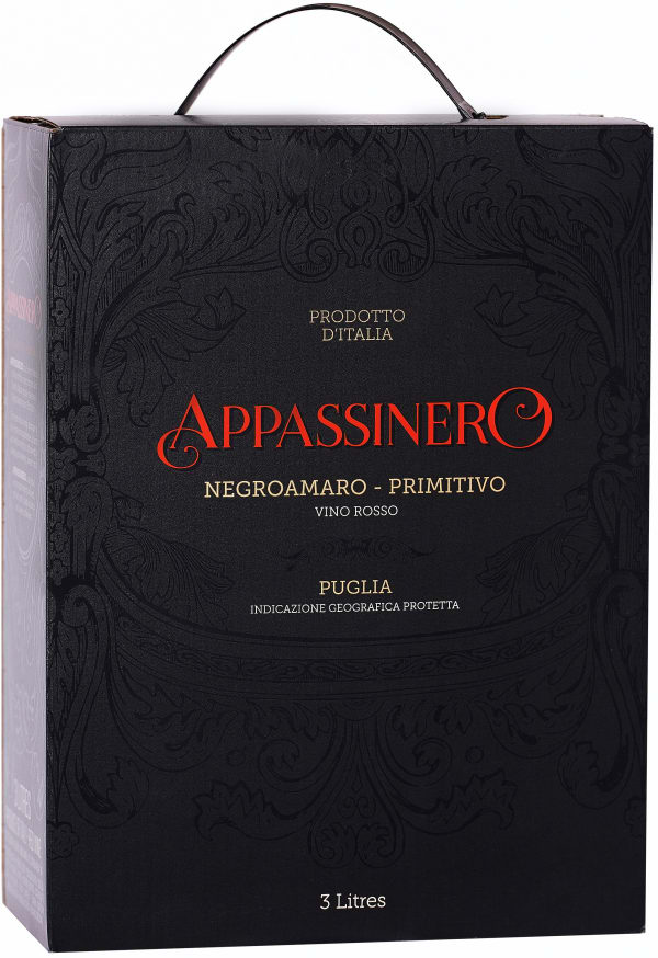 Appassinero Negroamaro Primitivo bag-in-box